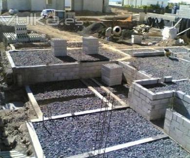 Construccion de cimentaciones