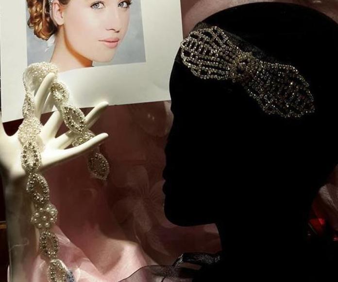 Ornamentos para vestidos de novia