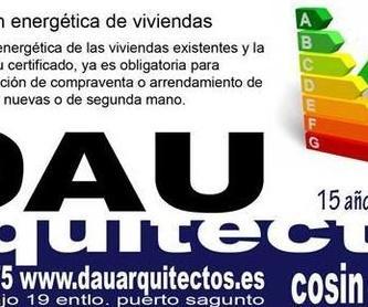 Certificado de habitabilidad: Servicios de DAU Arquitectos