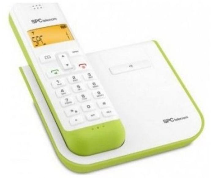 Telefono inalambrico Dect SPC Telecom 7232 verde: Productos y Servicios de Stylepc