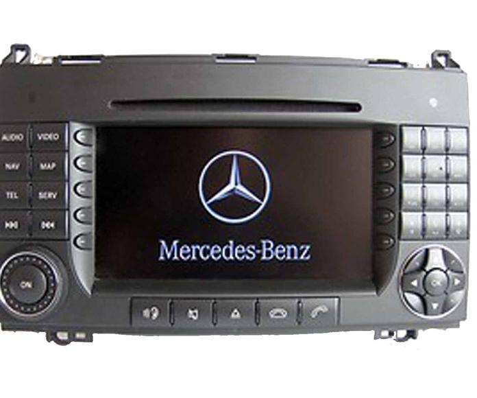Radio navegador original Mercedes-Benz Comand APS NTG-2 W169 W245 W639 W906