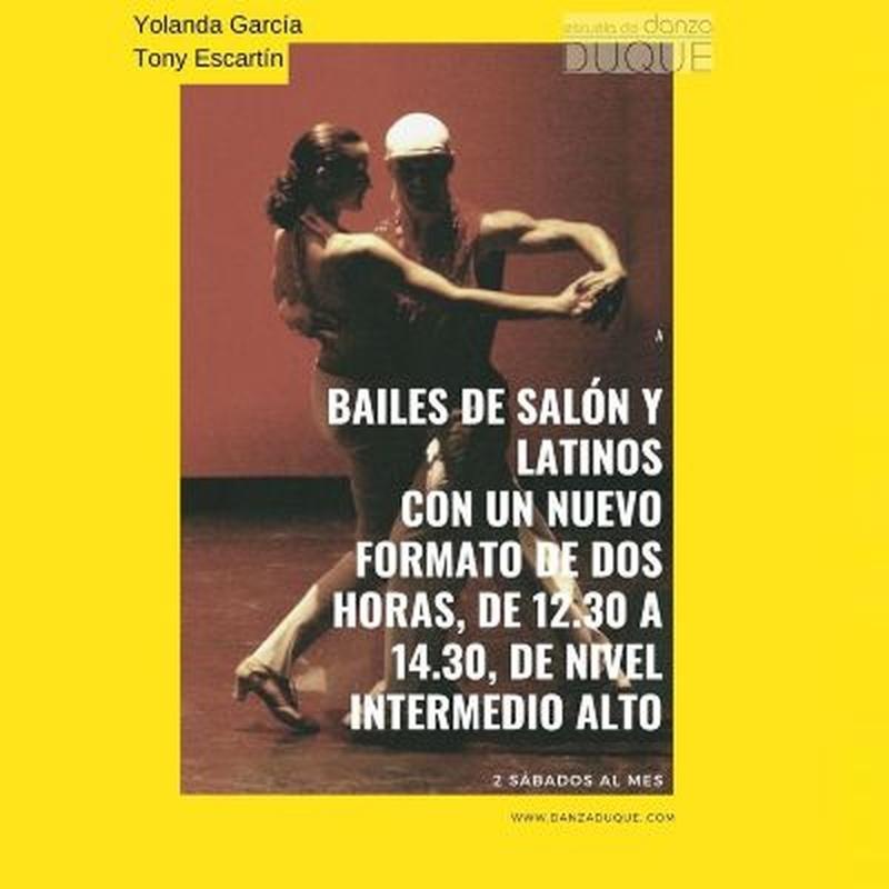 Bailes de salón y latinos: Clases de Escuela de Danza Duque