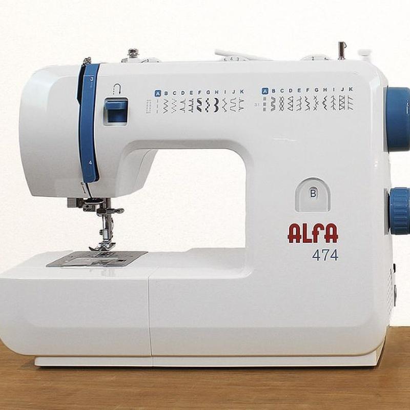 Alfa 474: Productos de Maquinas de Coser - Servicio técnico y repuestos