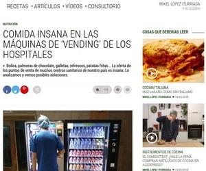 Artículo y entrevista de el Comidista en el País