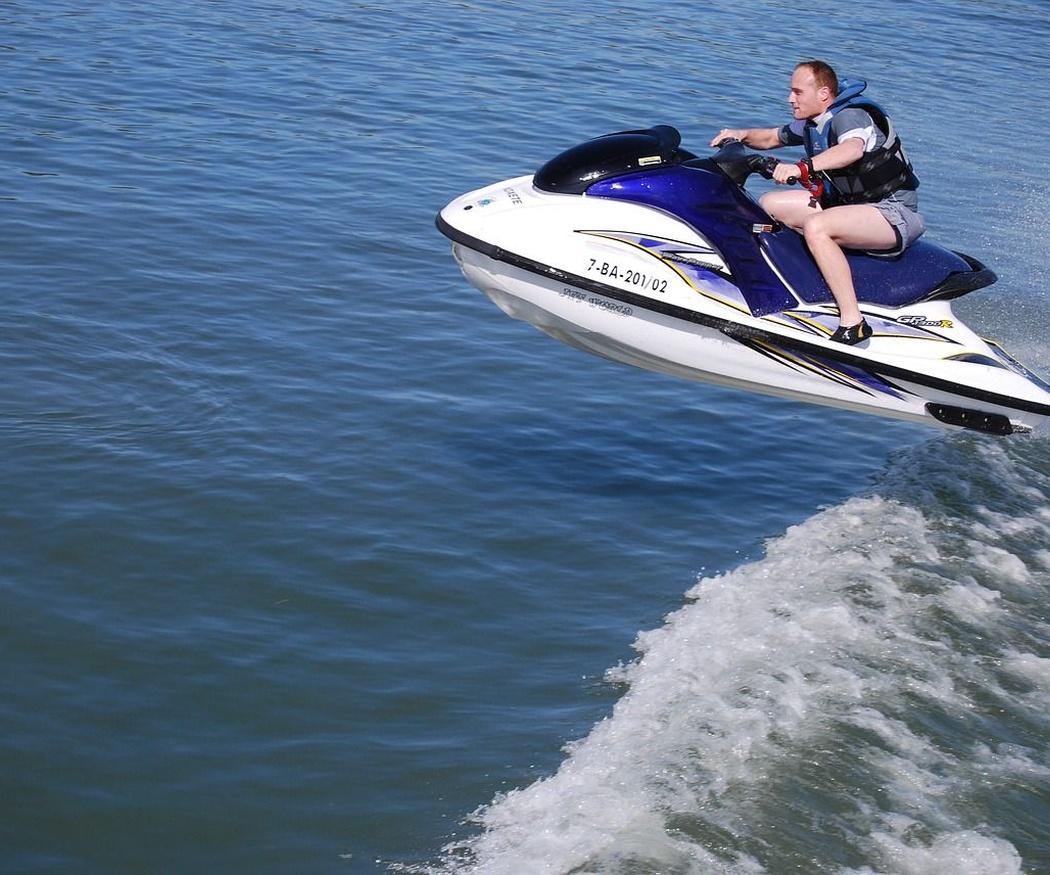 Historia de las motos de agua