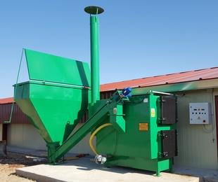 Generadores de Aire Caliente con Sinfín de Biomasa