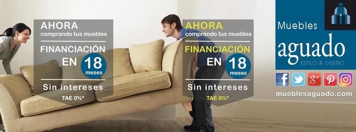 Financia tus muebles en 18 meses sin intereses ¡OFERTA DE FINANCIACIÓN MUEBLES todo el año, 18 meses sin intereses!  FINANCIACIÓN MUEBLES. Te ayudamos a pagar todos tus muebles