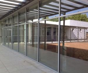 Puertas de entrada de aluminio en Torredembarra: Aluminis Solé
