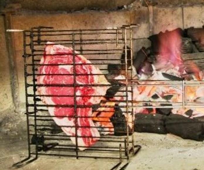 Alta calidas en carnes las cuales a la brasa son inmejorables