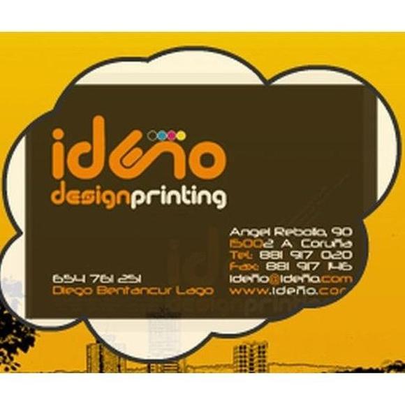 Diseño de papelería: Catálogo de Ideño Diseño e Impresión