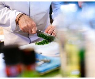 Los cuchillos de un gran chef