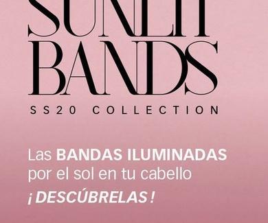 SUNLIT BANDS, bandas iluminadas por el sol en el cabello