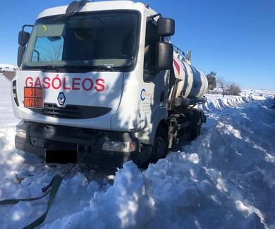 Servicio de distribución de gasoil rápido