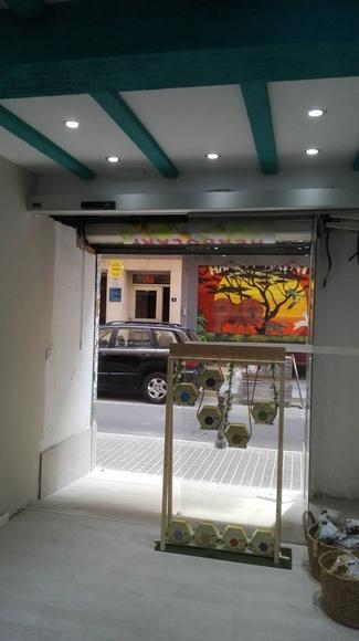 Puerta de Cristal Automática Farem Delux Herboristería Torrente23