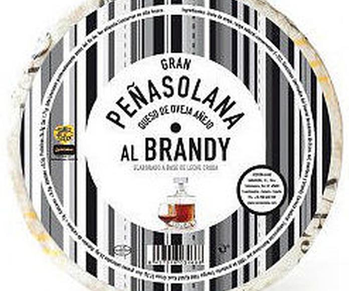 Queso de oveja Peñasolana Añejo con manteca al brandy Zamorano: Productos de El Racó del Bierzo