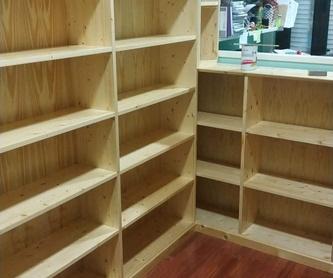 Barandillas: Productos y Servicios  de Carpintería Florencio Veiga