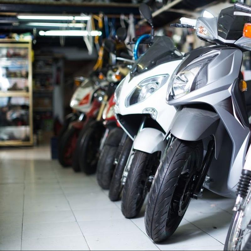 Venta de motos: Servicios de Bizkor Autoak