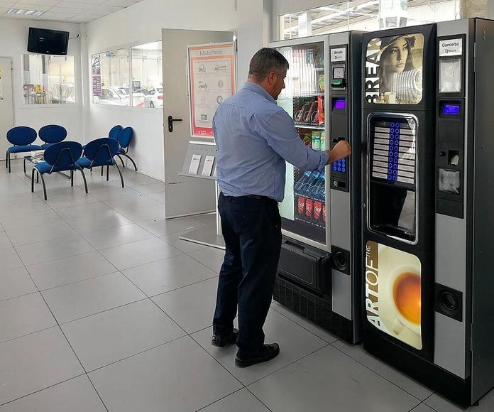 Máquinas de Vending en Alicar