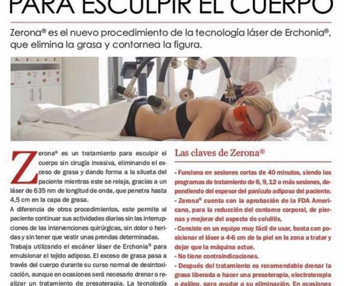 Láser Zerona: Servicios de Centro de Estética Carmen Martínez
