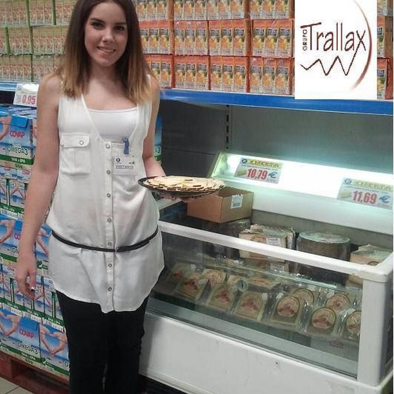 Promociones en punto de venta: Servicios de Grupo Trallax