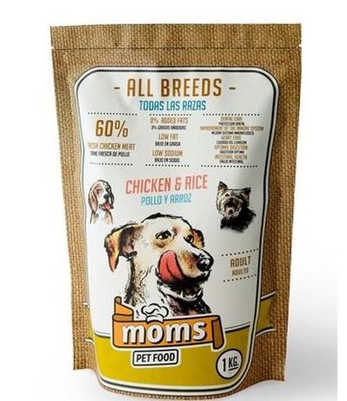 Alimento para perros moms