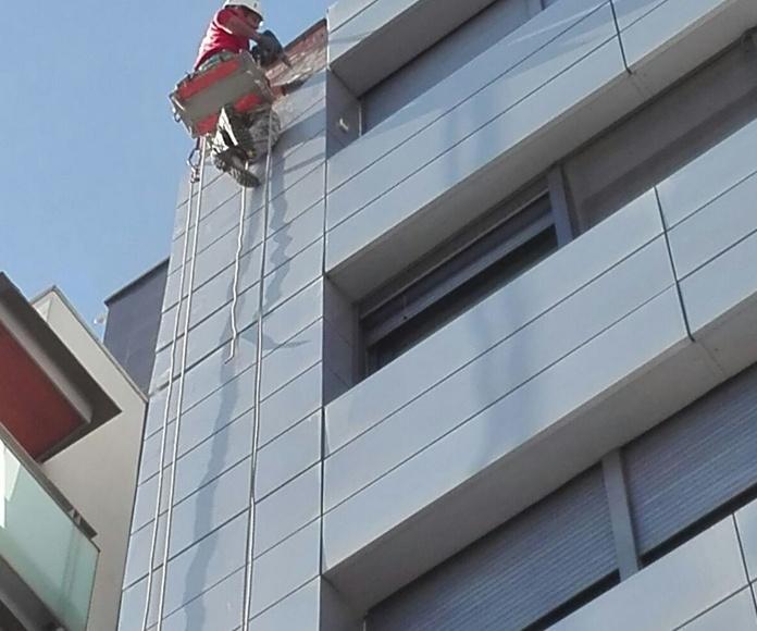 Trabajo vertical en Mollet del Vallès
