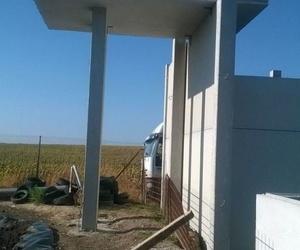 Pilares estructurales de hormigón