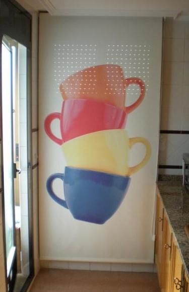 Estor enrollable decorado: Servicios de Persianas y Toldos de la Cruz, S.L.
