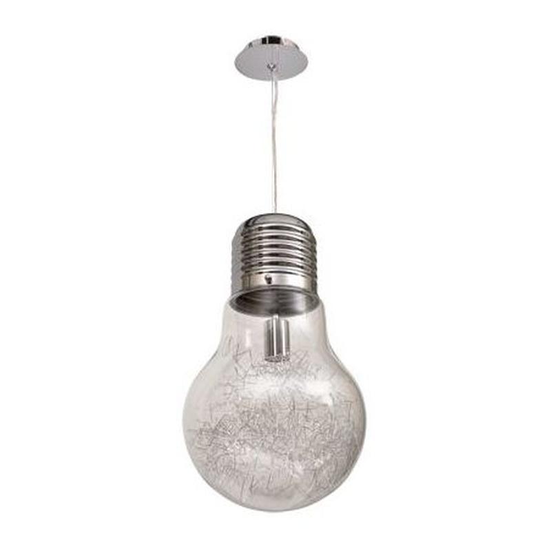 lámpara colgante forma bombilla