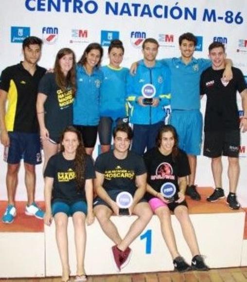 Juniors y Absolutos, subcampeones en el Campeonato de Madrid de Verano