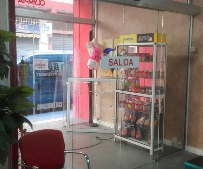 PUERTA RAPIDA CRISTAL AUTOMATICA  2 HOJAS FAREM DELUX