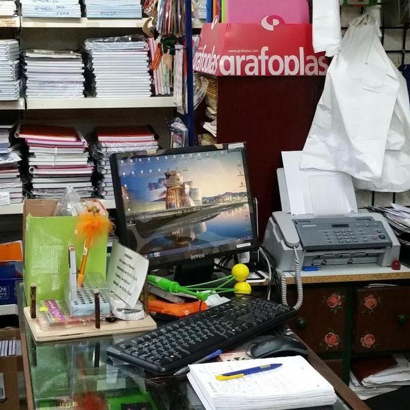 Impresión de documentos : Productos y servicios de Grafos Papelería