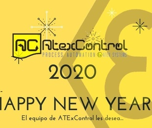 El equipo de ATExControl les desea un FELÍZ 2020!