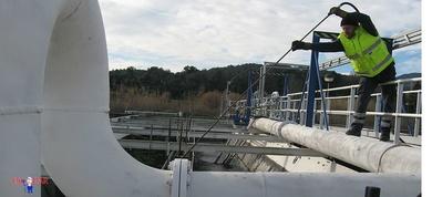 Limpieza depósitos de agua Huesca