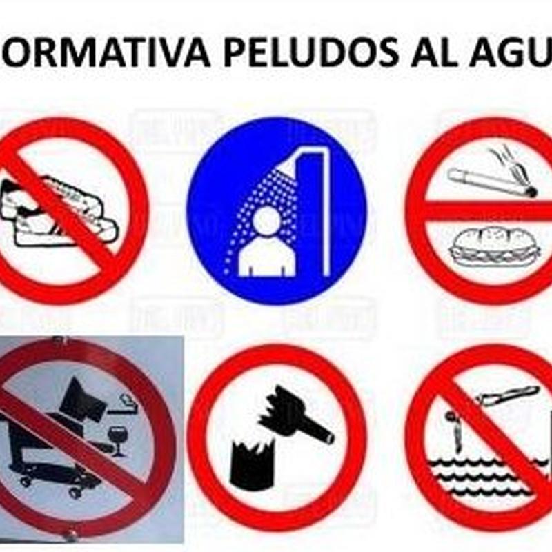 Normativa de Peludos al Agua