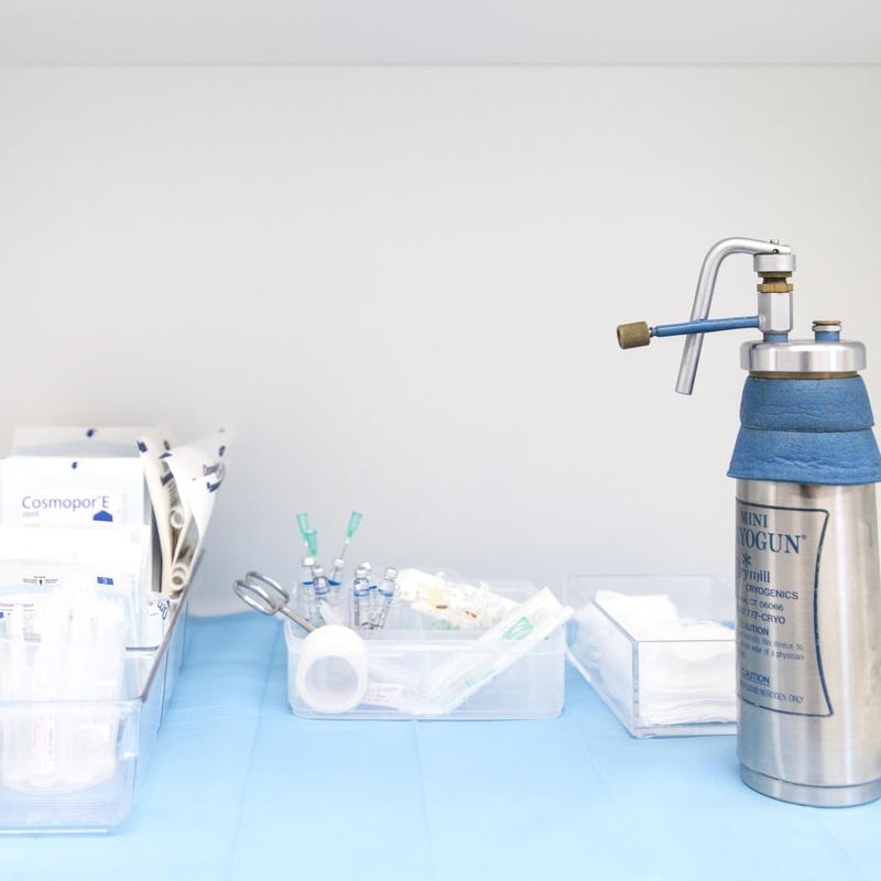 Crioterapia: Dermatología y Dermoestética de Dermatología Socorro Fierro