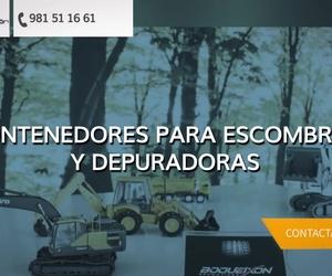 Transporte de áridos en Coruña | Construcciones Boqueixón