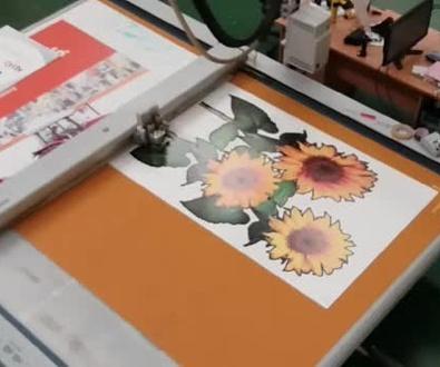 SILUETEADO : Fresadora trabajando