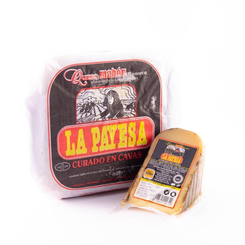 Paquete queso la Payesa Curat Cava :  de Ramaders Agrupats