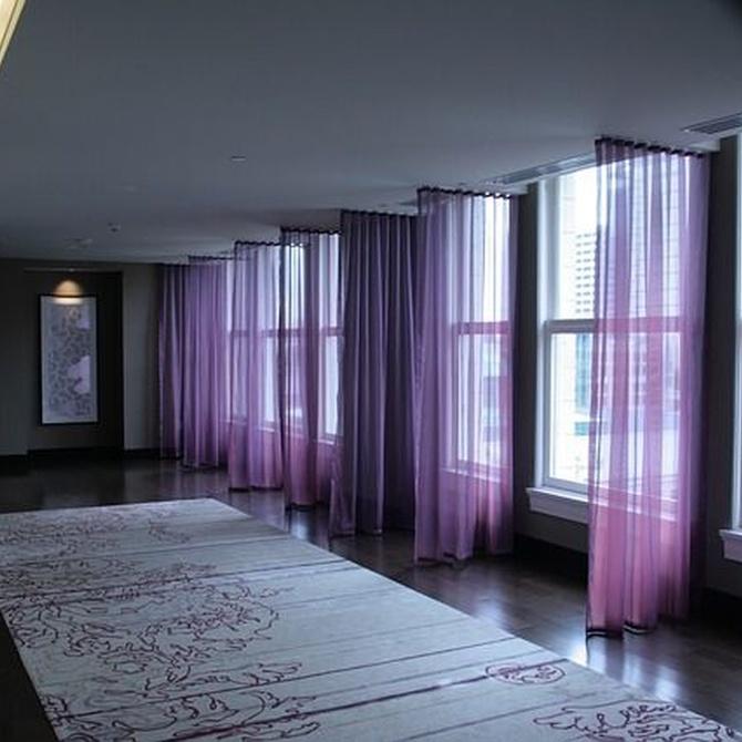¿Qué son las cortinas con tejido screen?