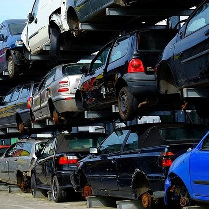 El despiece de un vehículo como solución