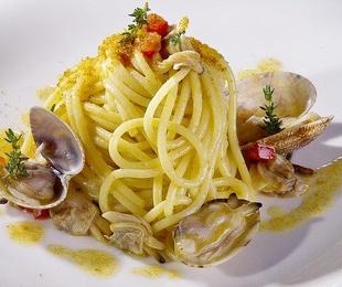 Recetas de espaguetis con pescado y marisco