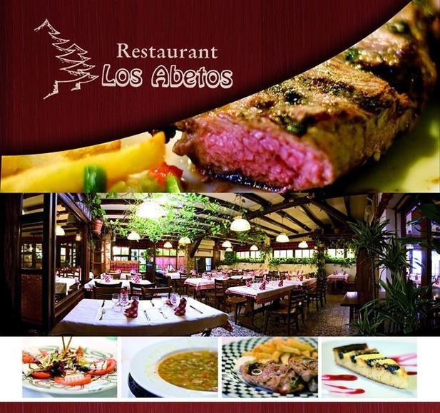 Menús para grupos: PLATOS de Restaurante Los Abetos