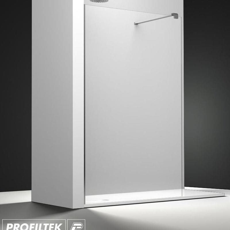 Mampara de baño Profiltek walk-in serie Belus modelo BS-200
