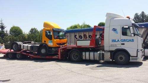 Remolcado de vehículos industriales en Bilbao