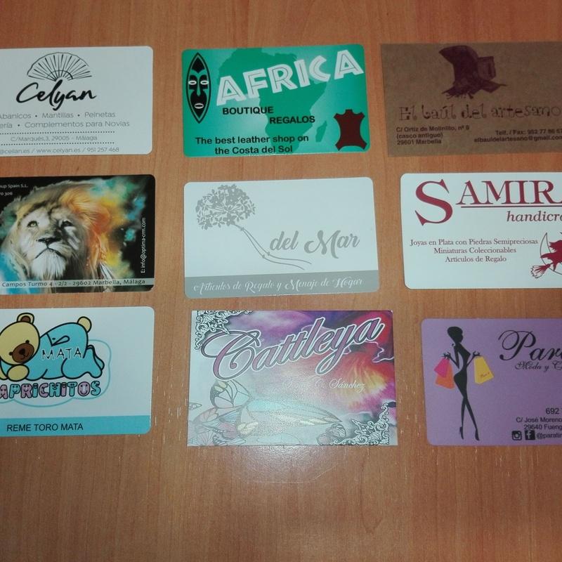 Tarjetas de visita: Productos de Bolsagrafic
