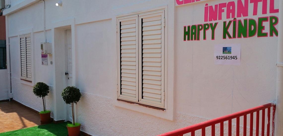 Escuela infantil en Tenerife con amplias instalaciones