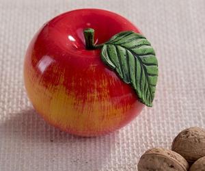 Vela manzana roja
