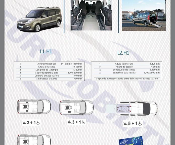 Rebaje de piso Oel Combo cajeado adaptación de vehículos Langreo