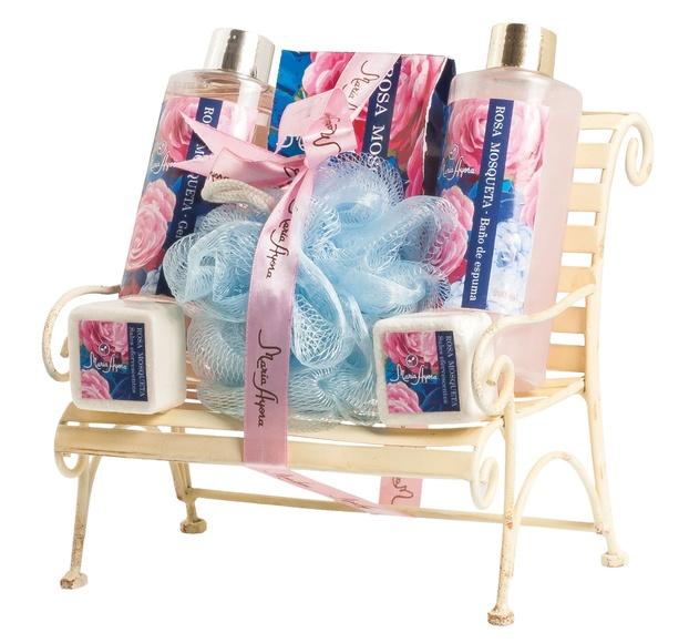 Set de baño banco Rosa mosqueta